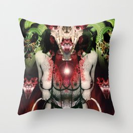 Priestess Throw Pillow
