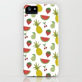 Fruits of Summer iPhone Case