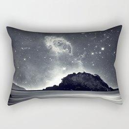 Island in the sea of eternity Rectangular Pillow