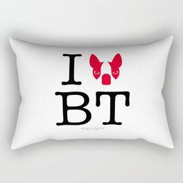 I ♥ BOSTON TERRIER Rectangular Pillow