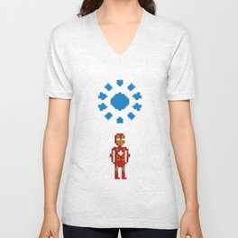 Iron man Unisex V-Neck