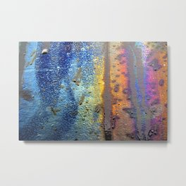 (t)Rainbow Metal Print