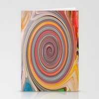 trippy Stationery Cards featuring trippy by Carol Sabbagh