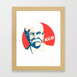 KGB Framed Art Print