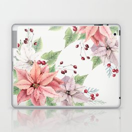 Poinsettia 2 Laptop & iPad Skin