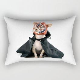Chihuahua Luchador Rectangular Pillow