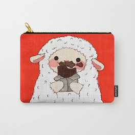 Chocolate Lamb Carry-All Pouch