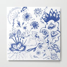 All Azul  Metal Print