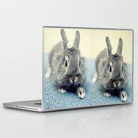 bunny Laptop & iPad Skins featuring Bunny by Falko Follert Art-FF77