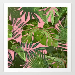 Pink b. summer Art Print