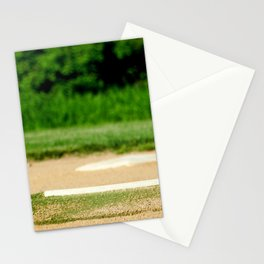 Home Plate (Baseball) Stationery Cards