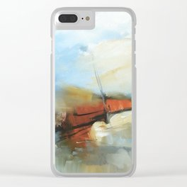 Les Mar Clear iPhone Case