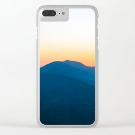 Mighty Himalayan Mountains Clear iPhone Case
