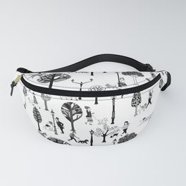 The Doggone Dog Is Mine_Pattern Fanny Pack