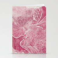 kiss Stationery Cards featuring KISS  by Marica Zottino