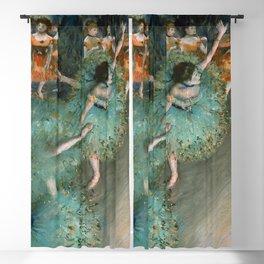 "Edgar Degas ""Danseuse basculant (Danseuse verte - The green dancer)"" Blackout Curtain"