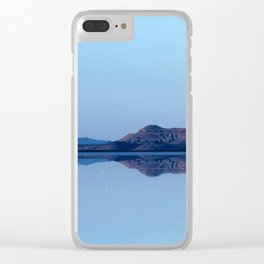 Reflection Scape Clear iPhone Case