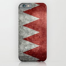 The flag of the Kingdom of Bahrain - Vintage version iPhone 6s Slim Case
