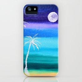 """Ghost Palms Of Kauai"" Original Painting iPhone Case"