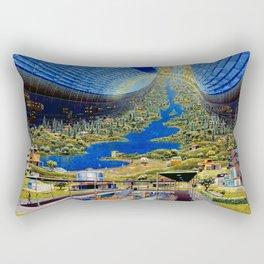 Interior View, Stanford Torus Rectangular Pillow