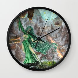 Bringer of Life Wall Clock