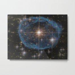 Hubble's Bubble Metal Print