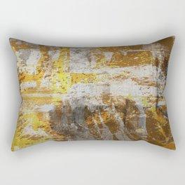 Abstract 20 - Study In Bronze Rectangular Pillow