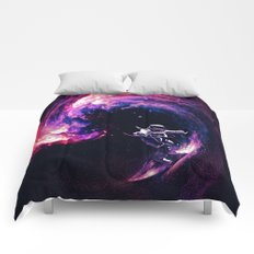 Space Surfing Comforters