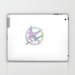 Mockingjay Watercolors Laptop & iPad Skin