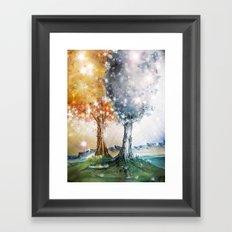 Ezellohar Trees Framed Art Print