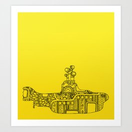 Yellow Submarine Solo Art Print