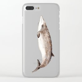 Beaked whale Clear iPhone Case