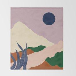 Intangible Land II Throw Blanket