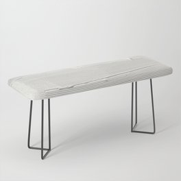 Relief [1]: an abstract, textured piece in white by Alyssa Hamilton Art Bench
