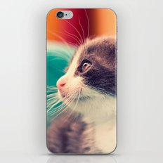 Billy The Cat iPhone & iPod Skin
