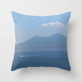 Naples views Throw Pillow