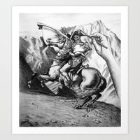 napoleon Art Prints featuring Napoleon by JamesLeach