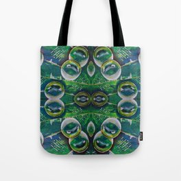 Abstract Bubble Art Tote Bag