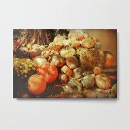 Autumn Collection Metal Print
