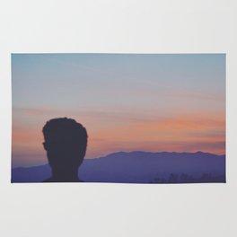 Sunset Silhouette Rug