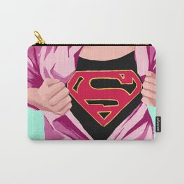 Girl, you're super Carry-All Pouch