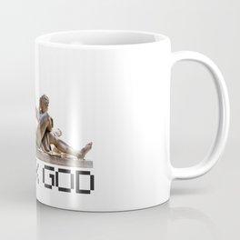 Geek God Computer Tech Programmer Nerd Coffee Mug