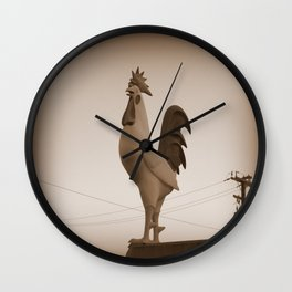 Giant Rooster Wall Clock