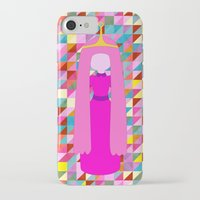 princess bubblegum iPhone & iPod Cases featuring PRINCESS BUBBLEGUM by Andrew Inc.