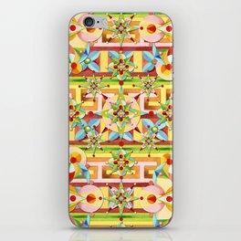 Rainbow Carousel Starburst iPhone Skin