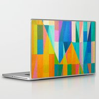 climbing Laptop & iPad Skins featuring By Climbing Colors by Fernando Vieira