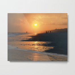 Sun Worshipers Metal Print
