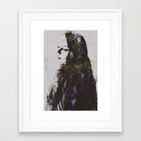 grace Framed Art Prints featuring Grace by  Maʁϟ