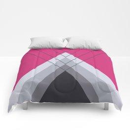 Iglu Pink Yarrow Comforters