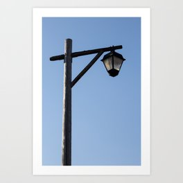 Light And Post Art Print